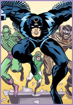 westcoastavengers:  Black Bolt & The Inhumans by Jack Kirby