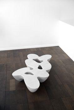 Emmanuel Babled Limited Edition: 7 elements - Carrara Marble. Photo Credit: Kessler