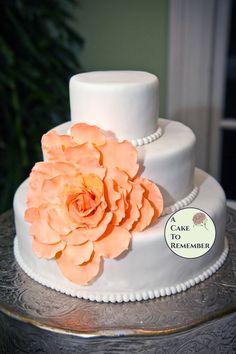 Large Gumpaste  Flower for Wedding Cakes edible by ACakeToRemember