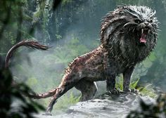 The Nundu is a large East African beast that resembles a leopard. It moves silently, despite its. Vampires, Harry Potter, Image Categories, Woodland Party, Fantastic Beasts, Bald Eagle, Lion Sculpture, Anime, Creatures