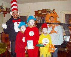 Cat in the hat theme costumes