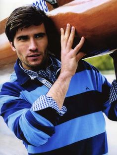 Duncan Macrae, British model, b. 1983