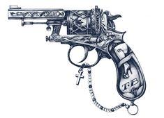 pistoleta by hello shane, via Behance
