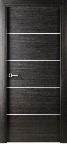 Avanti Modern Interior Single Door Italian Black Apricot Decorative...We made these doors for one of our remodels out of slab doors with a router. My hubby thought I was crazy when I came up with the idea but I knew he could do it. Now I see them all the time. $527.00