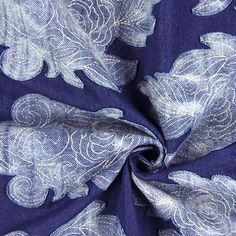 Application Jean 1 - Polyester - Viscose - Élasthanne - bleu jean Jean 1, Fabrics