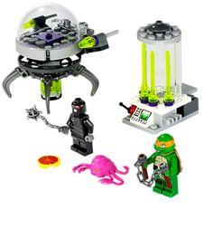 LEGO Teenage Mutant Ninja Turtles Kraang Lab Escape for sale online Lego Ninja Turtles, Teenage Mutant Ninja Turtles, Teenage Ninja, Building For Kids, Building Toys, Ninja Action Figures, Learning Toys, Michelangelo, New Toys