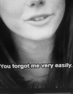 """""""You forgot me very easily."""" - Effy Stonem (Kaya Scodelario) from Skins UK."""