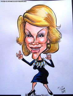 ~~Joan Rivers  (by Jimmy Pereira)
