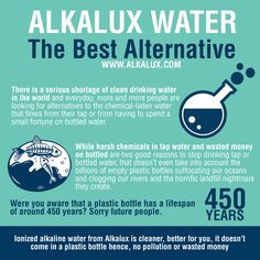 Alkalux Water - The Best Alternative | For more info about Alkaline Water: http://www.alkalux.com/knowledge-base/about-alkaline-water.html