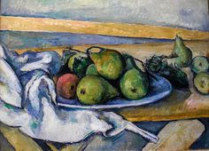 Paul Cezanne - Still Life with Pears at Wallraf-Richartz Museum Cologne Germany