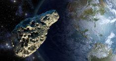 Ein Asteroid (Symbolbild)