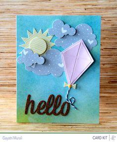 kite + cloud card
