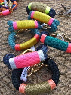 #neon chubby #rope handmade #braclets #suebdo