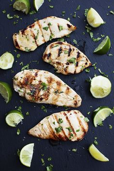 If you're feeling a little adventurous, try grilling chicken breasts and covering it in lime and cilantro. This flavorful dinner is not only delicious and easy, but it's also healthy!