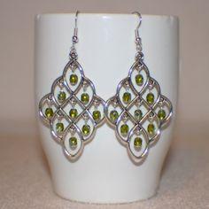 Olivine Crystal Passions  Swarovski Crystal by ThatGirlsDesigns, $15.00