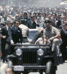heavy security for JFK, Costa Rica, 1963