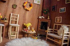Kingyo dolls: Autumn roombox                   on etsy