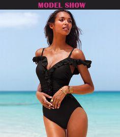 e4d5e518fd3b 2016 new push up swimwear women bathing suit one piece swimsuit solid  swimming suit for women