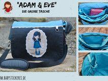 "Ebook große Tasche ""Adam & Eve"""