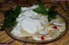 Mama i Pomocnicy: Pierogi z serem i śliwkami Pierogi, Camembert Cheese, Dairy, Food, Essen, Meals, Yemek, Eten