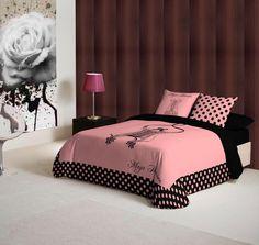 edredones Girly Girl, Comforters, Blanket, Handmade, Furniture, Home Decor, Tela, Tejidos, Comforters Bed