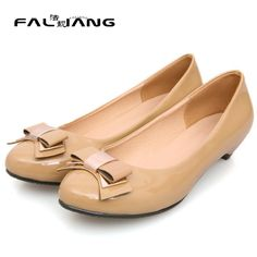 3b92e0fad4e5 spring and summer dropshipping fashion patent leather wedge women platform  wedge heel shoes low heel-in Women s Pumps from Shoes on Aliexpress.com
