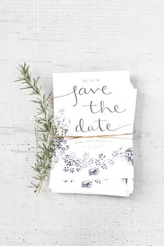 Recent Work: Wedding Save the Dates