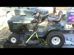 Craftsman Mower Repair-part 1 - YouTube