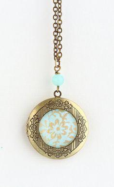 Mothers Day Sale Locket Necklace Brass Locket