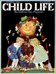 Child Life Magazine 1928-fashions for children in fall