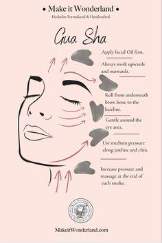 Gua Sha Massage, Face Massage, Good Skin Tips, Healthy Skin Tips, Face Yoga, Face Contouring, Skin Routine, Face Skin Care, Facial Care