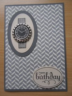 Watch birthday card