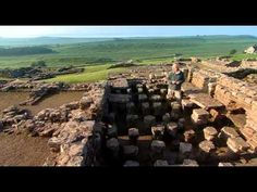 Beautiful views of Hadrian's Wall, w/history & info on how it was built:  Timewatch Hadrian's Wall BBC2