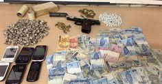 Menor é apreendido com armas, drogas e munição em Piracicaba