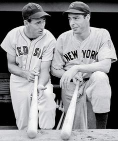 Ted Williams and Joe DiMaggio (1941)