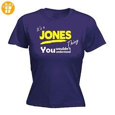 Its A Surname Thing Damen T-Shirt, Slogan Violett Violett Medium - Shirts mit spruch (*Partner-Link)