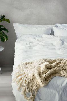 Parure de couette en coton - Blanc - Home All   H&M FR 1