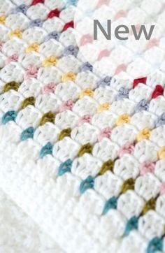 Baby Blanket Crochet by Trishann7                                                                                                                                                     Mais