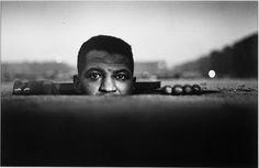 Gordon Parks (American, 1912–2006)   Emerging Man, Harlem   1952   Gelatin silver print   Gift in honor of George Howell   2001.11