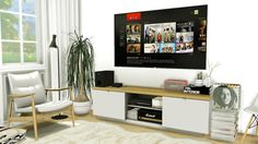 1 Year Anniversary Gift: Entertainment Set #5 • 2 Functional LG 84LM960V Cinema…