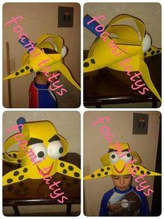 Sombrero loco pulpo