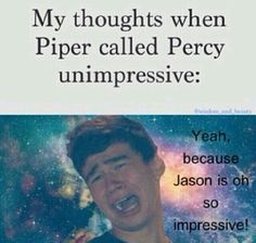 I like Jason but Persassy is the best