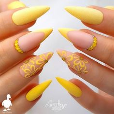 Do you want to try more bold and edgy nails? Then fine stiletto nails are your best choice. Check these amazing nail galleries together Stiletto Nail Art, Cute Acrylic Nails, Acrylic Nail Designs, Cute Nails, Gel Nails, Coffin Nails, Pastel Nails, Acrylic Art, Stiletto Nail Designs