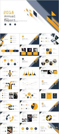 Business infographic & data visualisation Best creative annual analytics charts PowerPoint Te on Behance Infographic Description Professional Powerpoint Templates, Powerpoint Presentation Templates, Keynote Template, Web Design, Slide Design, Flat Design, Design Art, Presentation Layout, Business Presentation