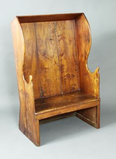 Antique settle - Stock - Moxhams Antiques