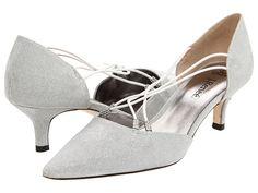 J. Renee Affair Silver Dance Fabric - Zappos.com (70)   Maybe?? Kinda pointy...