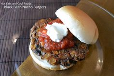 Hot Eats and Cool Reads: Black Bean Nacho Burgers Recipe and Cookbook Review! Ten Dollar Dinners by Melissa d'Arabian