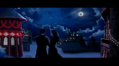 Moulin Rouge: My style, and color. Moons, lights, red and blue!