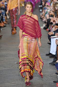 Missoni - I can't tell if it's shear, but if it's not, then it is so gorgeous