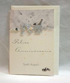 """Biglietto auguri """"Felice Anniversario"""", disponibile da C&C Creations Store"""